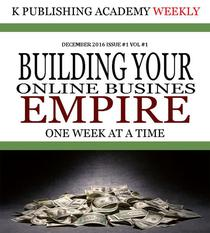 K Publishing Academy Weekly Issue #1