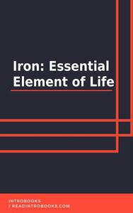 Iron: Essential Element of Life