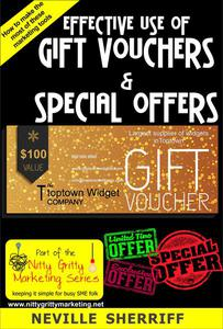 Effective Use of Gift Vouchers & Special Offers