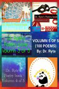 Dr. Ryte's Poetry Book Volumn 5 of 5