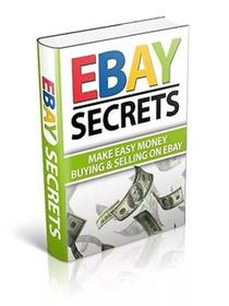 eBay Bbusiness Make Money Secrets oOf Selling oOn ebBay