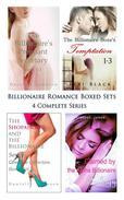 Billionaire Romance Boxed Sets: The Billionaire's Pregnant Secretary\The Billionaire Boss's Temptation\The Shopaholic and the Billionaire\Claimed by the Alpha Billionaire (4 Complete Series)