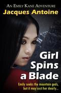 Girl Spins A Blade