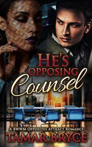 He's Opposing Counsel: A BWWM Opposites Attract Romance