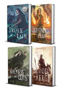 Blood of Titans: Cataclysm Arc Box Set (Smoke and Rain, Lightning and Flames, Madness and Gods, & Blood and Mercy)