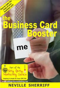 The Business Card Booster