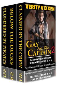 Gay For The Captain 2: Lust On The High Seas Bundle (Books 4, 5 & 6)