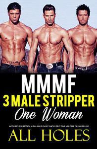 Menage Romance Three Stripper Men, One Woman – Erotica Short Sex Story