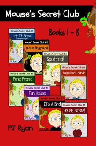 Mouse's Secret Club Books 1-8: 8 Book Bundle - Fun Short Stories for Kids
