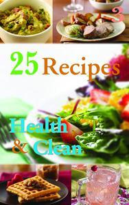 25 Reciepes Health & Clean Book 3