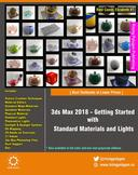 3ds Max 2018 - Getting Started with Standard Materials and Lights