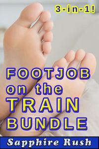 Footjob on the Train Bundle (public sex foot fetish)