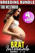 Brat Internals Breeding Bundle : Books 1 - 4