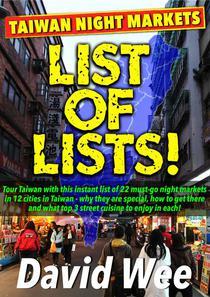 Taiwan Night Markets List Of Lists
