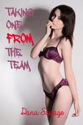 Taking One From the Team (Gangbang Breeding Erotica)