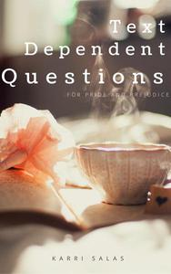 Text Dependent Questions for Pride and Prejudice