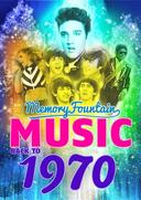 1970 MemoryFountain Music: Relive Your 1970 Memories Through Music Trivia Game Book Layla, Bridge Over Troubled Water, Let It Be by Beatles, and More!