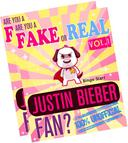 Are You a Fake or Real Justin Bieber Fan? Bundle Version - Red and Yellow - The 100% Unofficial Quiz and Facts Trivia Travel Set Game