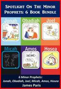 Bible Study Guide - Bible Commentary: A Summary Of The Minor Prophets, 6 Book Bundle (1) JONAH, OBADIAH, JOEL, HOSEA, AMOS, MICAH