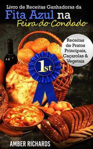 Livro de Receitas Ganhadoras da Fita Azul na Feira do Condado