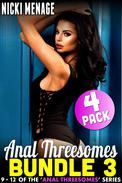 Anal Threesome Bundle 3 - Books 9 - 12 (Anal Sex Anal Erotica Threesome Erotica Age Gap Erotica Menage Erotica Collection Erotica Bundle)