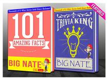 Big Nate - 101 Amazing Facts & Trivia King!