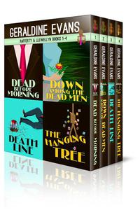 Rafferty and Llewellyn British Mysteries Books 1 - 4