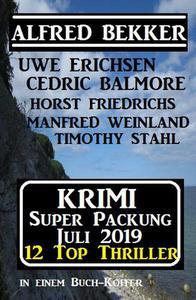 Krimi Super Packung Juli 2019 – 12 Thriller in einem Buch-Koffer