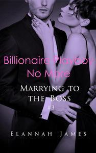 Billionaire Playboy No More