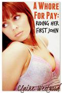 Riding Her First John - A Threesome, Interracial Public erotica tale