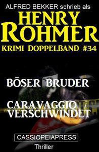 Krimi Doppelband #34