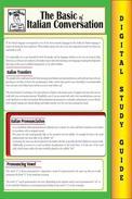 Italian Conversation (Blokehead Easy Study Guide)