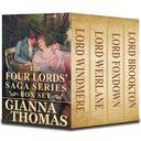 Regency Romance: The Four Lords' Saga