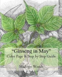 Ginseng in May: Color Page & Step-by-Step Guide