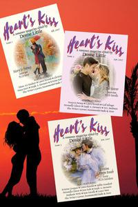 Heart's Kiss: A Romance Magazine – Omnibus Edition (Issues 1,2,3): Featuring Mary Jo Putney, Deb Stover, M.L. Buchman, Laura Resnick, Kristine Grayson and many more