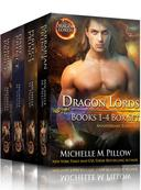 Dragon Lords Books 1 - 4 Anniversary Editions: Qurilixen World Novels (Dragon-Shifter Romance)