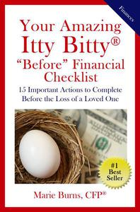 "Your Amazing Itty Bitty® ""Before"" Financial Checklist:"