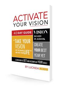 Activate Your Vision 40 Day Guide Book