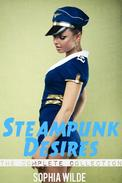 Steampunk Desires: An Erotic Romance (The Complete Collection)