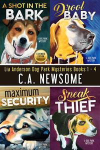 Lia Anderson Dog Park Mysteries: Books 1 - 4