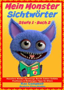 Mein Monster - Sichtwörter - Stufe 1 Buch 2