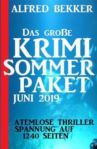 Das große Krimi Sommer-Paket Juni 2019
