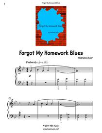 Forgot My Homework Blues