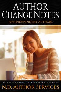 Author Change Notes for Independent Authors