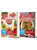 Meal Prep: 2 in 1 Meal Prep Bundle - With Over 50 Quick & Easy Meal Prep Recipes for Weight Loss and Clean Eating