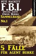 5 Fälle für Agent Burke - Sammelband Nr.1 (FBI Special Agent)