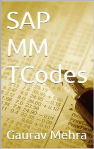 SAP MM TCodes