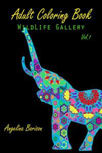 Adult Coloring Book : Wild Life Gallery