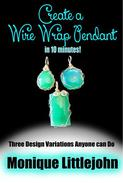 Create a Wire Wrap Pendant in 10 minutes!