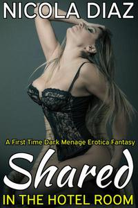 Shared in the Hotel Room  - A First Time Dark Menage Erotica Fantasy
